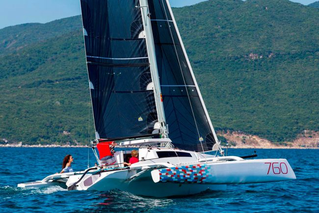 Corsair 760 - Yacht Design Collective