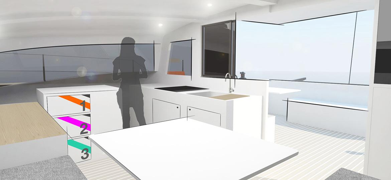 Pandora 13.50 - Yacht Design Collective