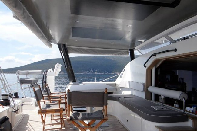 Catana Carbon Bimini - Yacht Design Collective