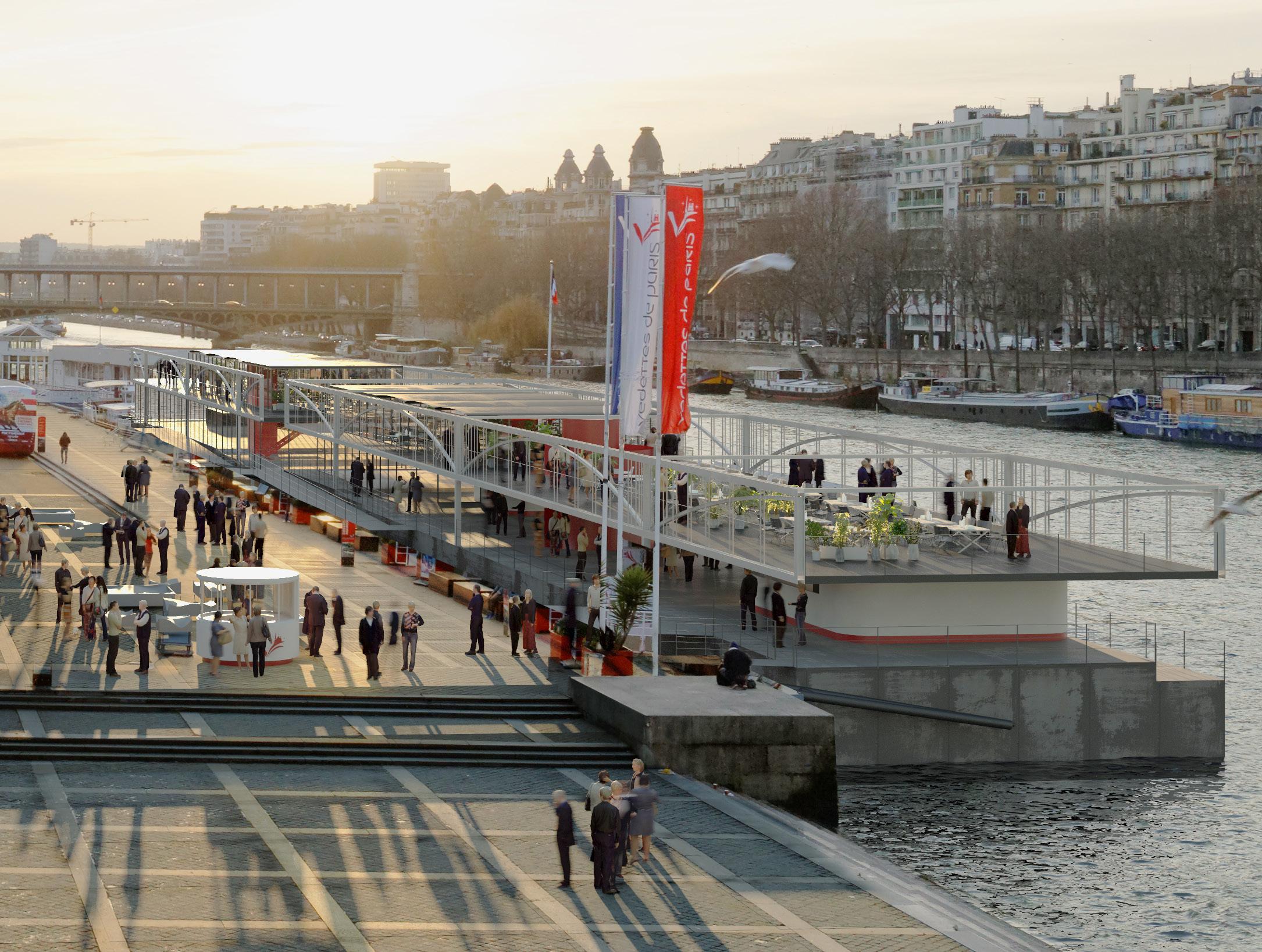 Vedettes de Paris - Yacht Design Collective